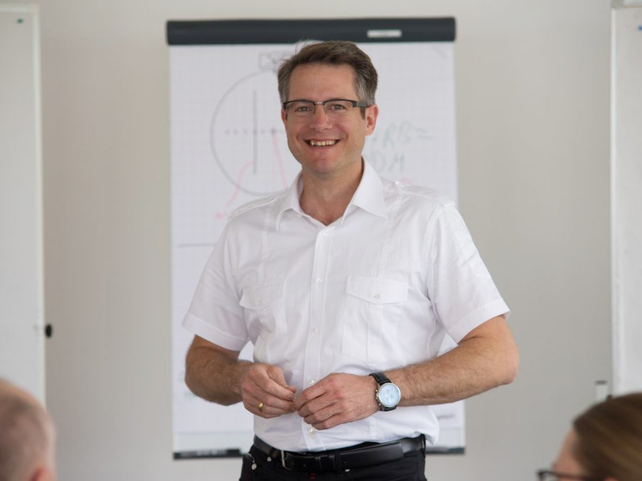 Unterricht PPL mit Lehrer Felix Michnacs