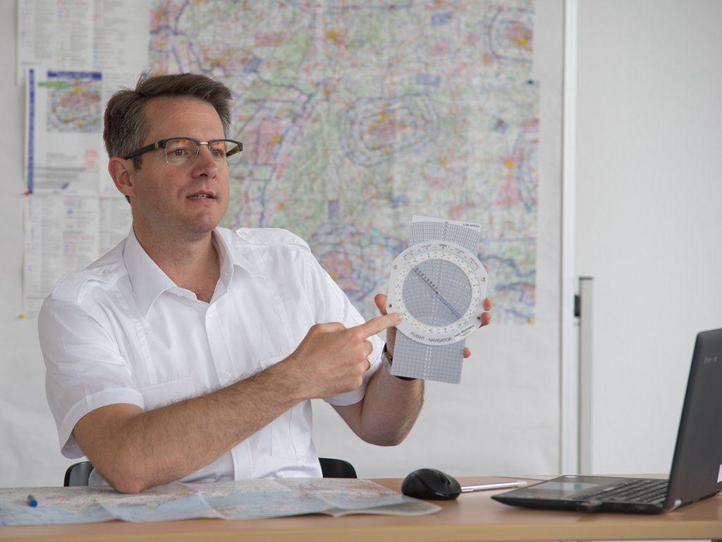Unterricht Navigation mit Lehrer Felix Michnacs