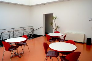 Ruhezone Lehrsaal